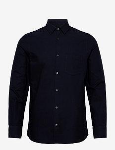 M. Tim Oxford Shirt - basic shirts - navy
