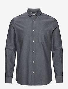 M. Tim Oxford Shirt - basic shirts - pacific/ s