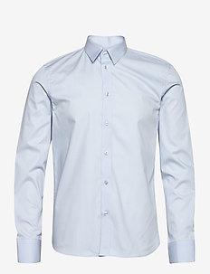 M. Paul Stretch Shirt - basic overhemden - light blue
