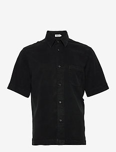 M. Owen Tencel Shirt - chemises basiques - almost bla