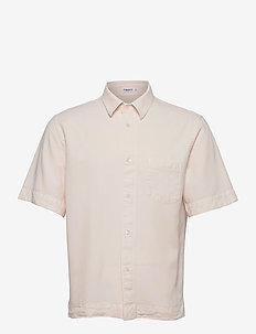 M. Owen Tencel Shirt - ruutupaidat - faded pink