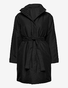 Vienna Padded Coat - padded coats - black