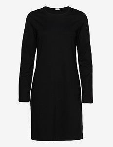 Carla Dress - knitted dresses - black