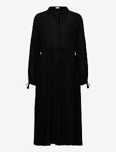 Samantha Dress - blousejurken - black