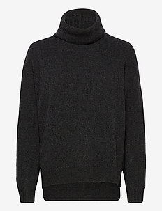 Molly Roll-Neck Sweater - poolopaidat - dark grey