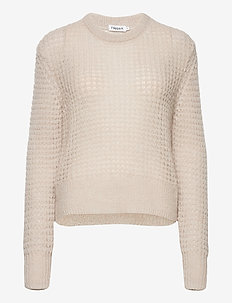 Helen Mohair Sweater - jumpers - ivory