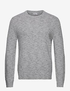 M. Emmanuel Sweater - basic strik - warm grey