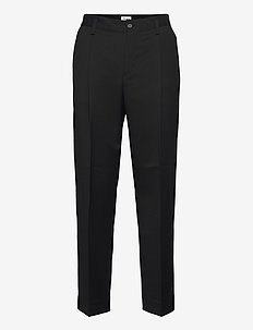 M. Samson Wool Trouser - suitbukser - black