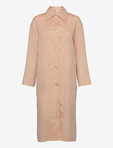 Georgia Coat Dress - skjortklänningar - maplewood