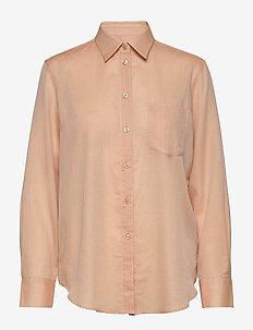Daphne Shirt - langærmede skjorter - maplewood