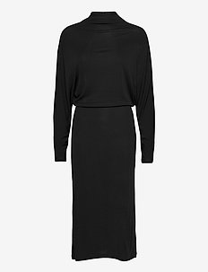 Cherice Dress - sukienki do kolan i midi - black