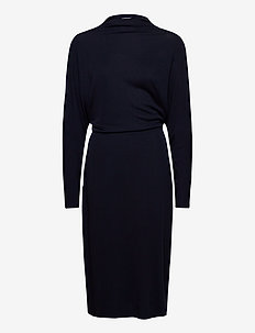 Cherice Dress - sukienki do kolan i midi - navy