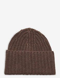 Corinne hat - beanies - dark taupe