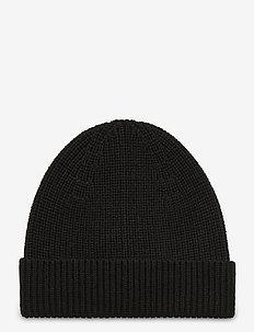 M. Eric Hat - beanies - black