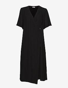Amalia Wrap Dress - wikkel jurken - black