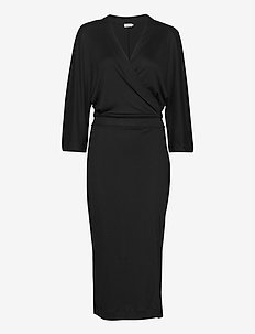Irene Dress - robes portefeuille - black