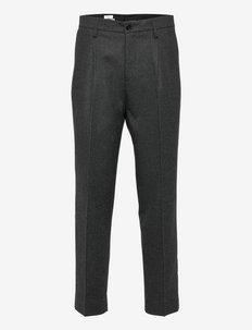 M. Samson Flannel Trouser - od garnituru - dark grey