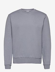 M. Gustaf Sweatshirt - basic sweatshirts - steel blue
