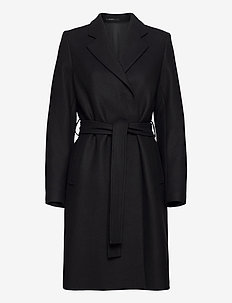 Kaya Coat - manteaux en laine - black