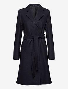 Kaya Coat - wool coats - navy