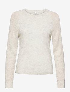 Petra Sweater - trøjer - light grey