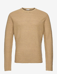 M. Tyler Sweater - tricots basiques - yellow/tau