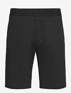 M. Terry Cotton Shorts - casual shorts - black