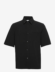 M. Oliver Shirt - peruspaitoja - black