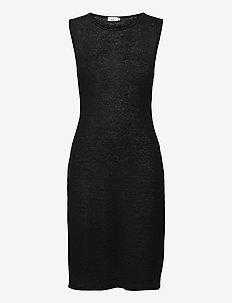 Patricia Linen Dress - alledaagse jurken - black
