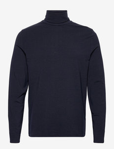 M. Tom Roller Neck Tee - t-shirts à manches longues - navy