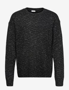 M. Cole Sweater - tricots basiques - black mela