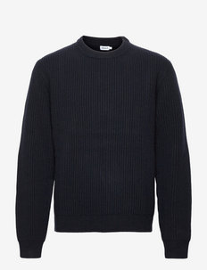 M. Ludvig Sweater - pulls col rond - navy