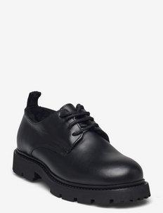 Krisha Derby Shoe - snörskor - black