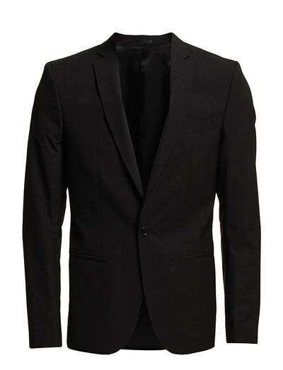 M. Christian Cool Wool Jacket - BLACK