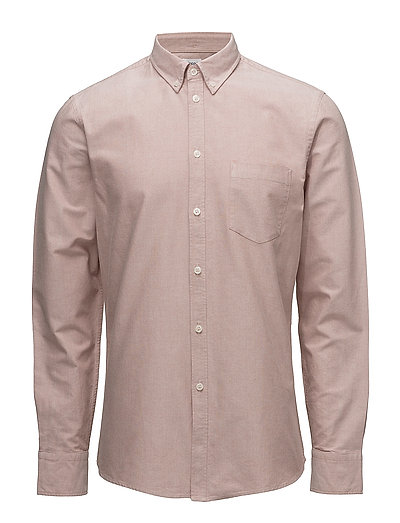 M. Paul Oxford Shirt - SALT/ RUST