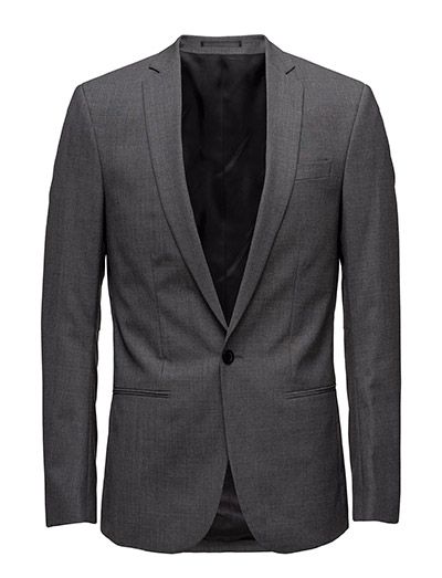M. Christian Cool Wool Jacket - GREY MEL.