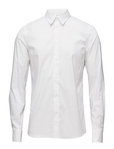 M. Paul Stretch Shirt - WHITE