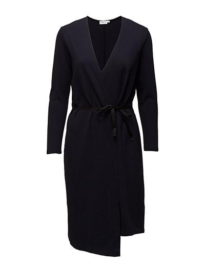 Jersey Wrap Dress - NAVY