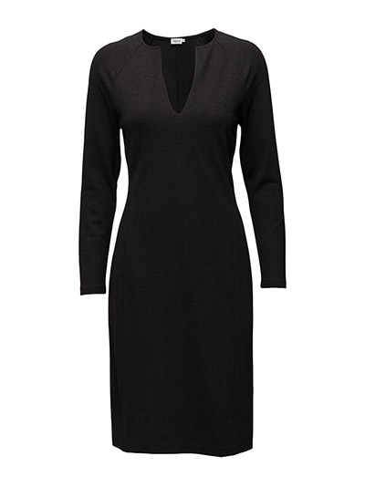 Jersey Split Dress - ANTRACITE