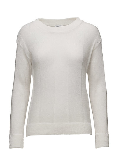 Delicate Mohair Pullover - WHITE