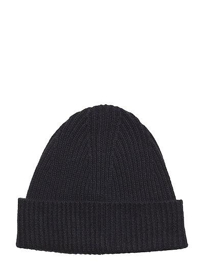 Cashmere Hat - DK. NAVY