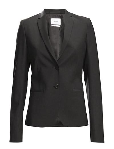 Jackie Cool Wool Jacket - BLACK