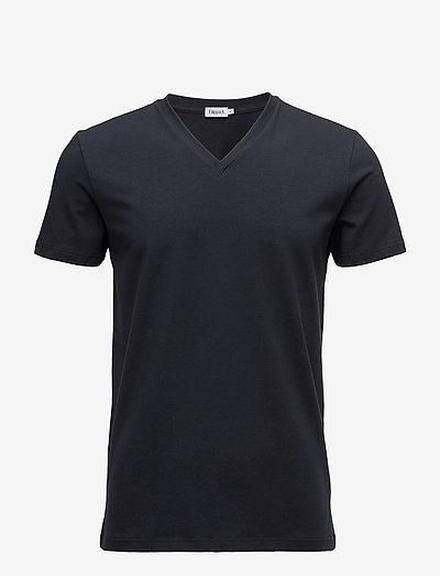 M. Lycra V-Neck Tee - t-shirts basiques - navy