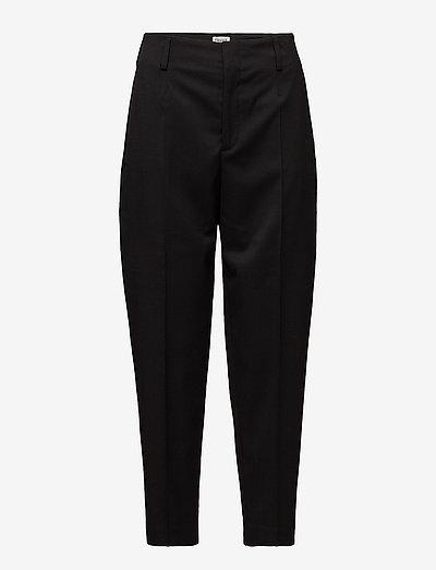 Karlie Trousers - broeken med straight ben - black