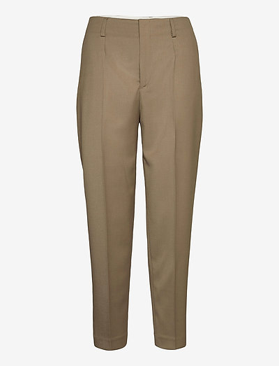 Karlie Trousers - broeken med straight ben - grey taupe