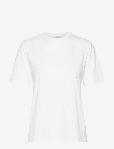 Annie Cotton T-shirt - t-shirts - white