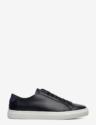 M. Morgan Low Mix Sneaker - matalavartiset tennarit - navy