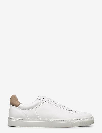 M. Robert Low Mix Sneaker - låga sneakers - white