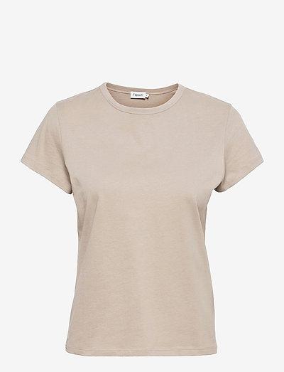 Edna T-Shirt - t-paidat - grey beige