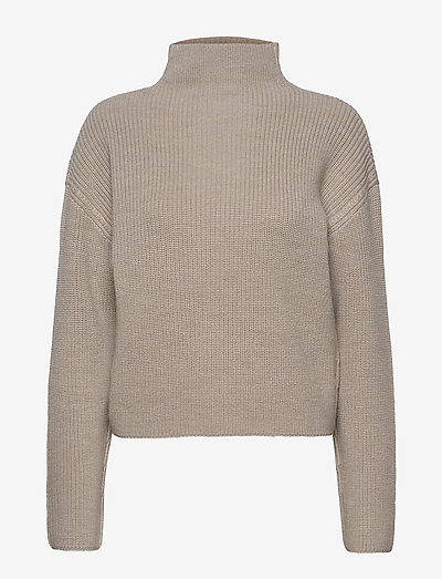 Willow Sweater - sweaters - grey beige